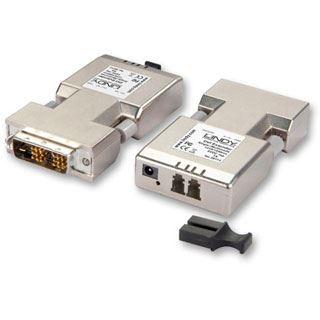 Lindy DVI-D Extender 1500m Fiber / LWL Duplex LC