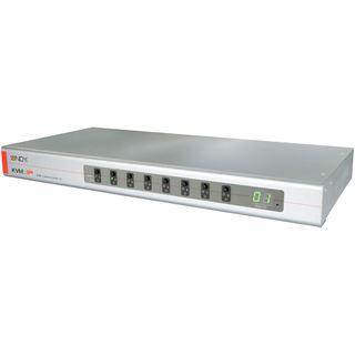 Lindy KVM Switch Combo 8 mit KVM-IP 8 USB-PS/2-VGA Server P.