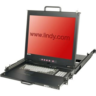 "Lindy 19""LCD KVM Terminal PRO DE 19""1HE Dual Rail Schublade"