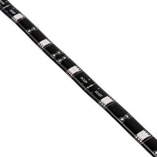 Akasa Vegas M LED-Strip, 15 LEDs, 50 cm - rot