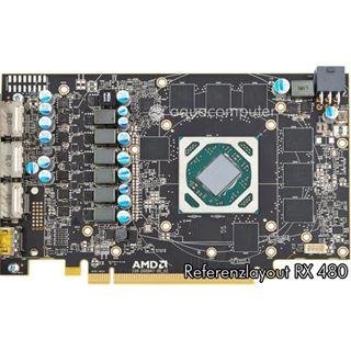 aqua computer kryographics für Radeon RX 480 Acryl Edition