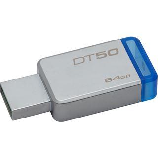 64 GB Kingston DataTraveler 50 blau USB 3.0