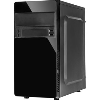 Inter-Tech MA-03 Midi Tower 500 Watt schwarz