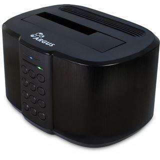 """Inter-Tech Argus GD-PDLK02 Dockingstation für 2.5"""" und 3.5"""" Festplatten (88884070)"""