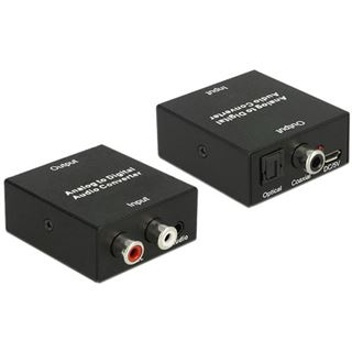 Delock Audio Konverter Analog auf Digital + USB micro B