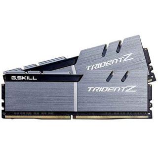 16GB G.Skill Trident Z silber/schwarz DDR4-3200 DIMM CL14 Dual Kit
