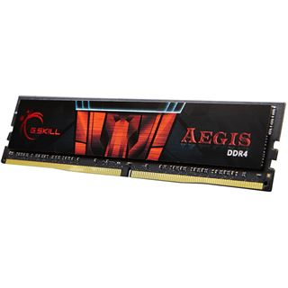 64GB G.Skill Aegis DDR4-2400 DIMM CL15 Quad Kit