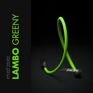 MDPC-X Sleeve SATA Lambo-Greeny 1.00m