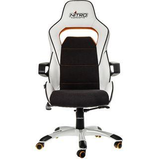 Nitro Concepts E220 Evo Gaming Stuhl weiß/orange