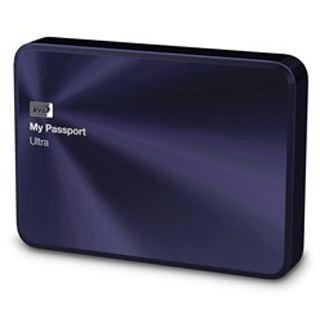 """4000GB WD My Passport Ultra Metal WDBEZW0040BBA-EESN 2.5"""" (6.4cm) USB 3.0 blau/schwarz"""