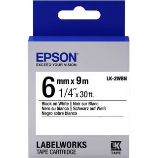 Epson Tape LK2WBN STD schwarz/weiß