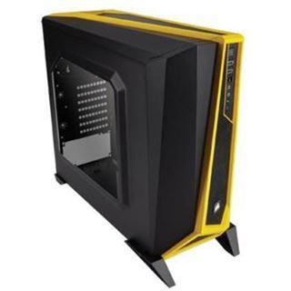 Corsair Carbide Series SPEC-ALPHA mit Sichtfenster Midi Tower ohne Netzteil schwarz/gelb