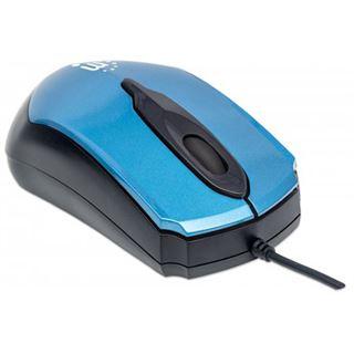 Manhattan Edge USB blau/schwarz (kabelgebunden)