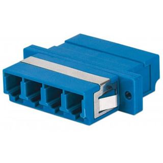 Intellinet LWL Adapter LC->LC Singlemode 4-Kern