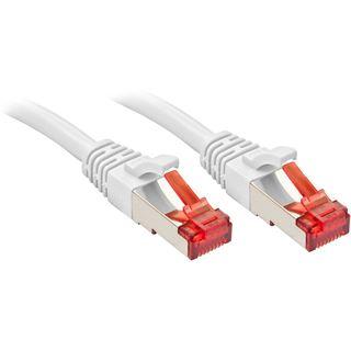 (€16,33*/1m) 0.30m Lindy Cat. 6 Patchkabel S/FTP RJ45 Stecker auf RJ45 Stecker Weiß