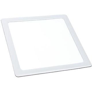 DEMCiflex Staubfilter 140mm, quadratisch - weiß/weiß