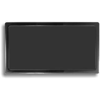 DEMCiflex Staubfilter 280mm x 140mm - schwarz/schwarz