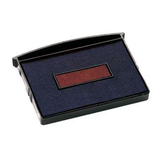COLOP Ersatzstempelkissen E/2600, blau / rot