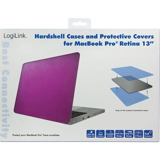 """LogiLink Schutzhülle für 13"""" MacBook Pro Retina,"""