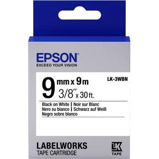 Epson Band standard schw./weiß 9mm