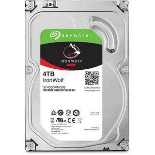 "4000GB Seagate IronWolf ST4000VN008 64MB 3.5"" (8.9cm) SATA 6Gb/s"