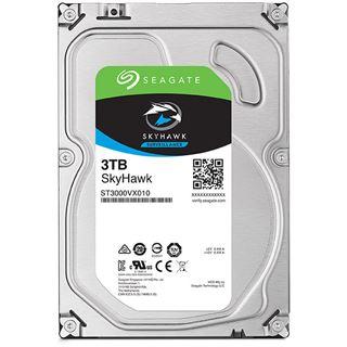 """3000GB Seagate SkyHawk ST3000VX010 64MB 3.5"""" (8.9cm) SATA 6Gb/s"""