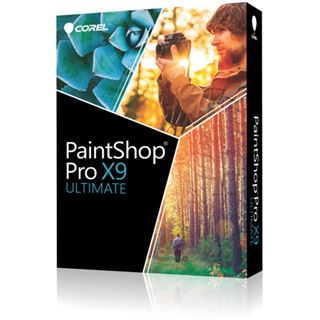Corel Corel PaintShop Pro X9 Ultimate 32 Bit Multilingual Grafik Vollversion 1 User PC (DVD)