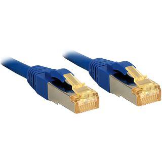 (€1,80*/1m) 30.00m Lindy Cat. 7 Patchkabel S/FTP RJ45 Stecker auf RJ45 Stecker Blau Klinkenschutz / LSOH