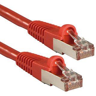 (€3,45*/1m) 2.00m Lindy Cat. 6 Patchkabel S/FTP RJ45 Stecker auf RJ45 Stecker Rot