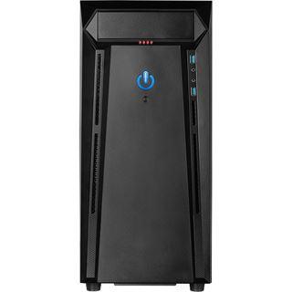 Inter-Tech N21-02 Arthurus Midi Tower ohne Netzteil schwarz