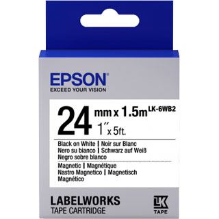 Epson Cartridge LK6WB2 MAGNETIC BLK/