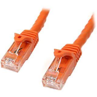 (€1,56*/1m) 7.00m Startech Cat. 6 Patchkabel UTP RJ45 Stecker auf RJ45 Stecker Orange PVC