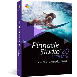 Pinnacle Studio 20.0 Ultimate 32 Bit Deutsch Videosoftware Vollversion PC (DVD)