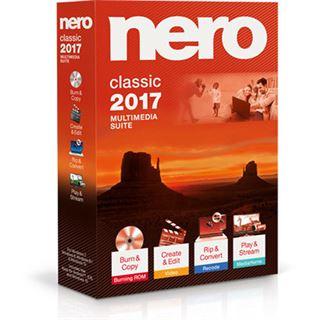 Nero Nero 2017 Classic 32 Bit Deutsch Brennprogramm Vollversion PC (CD)
