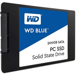 "500GB WD Blue 2.5"" (6.4cm) SATA 6Gb/s TLC Toggle (WDS500G1B0A)"