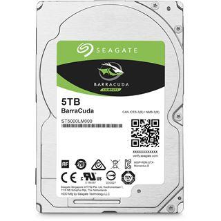 "5000GB Seagate Barracuda ST5000LM000 128MB 2.5"" (6.4cm) SATA 6Gb/s"
