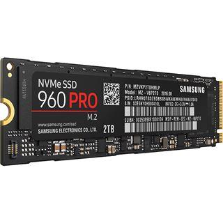 2000GB Samsung 960 Pro M.2 2280 NVMe PCIe 3.0 x4 32Gb/s 3D-NAND MLC Toggle (MZ-V6P2T0BW)