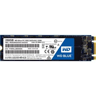 250GB WD Blue M.2 2280 M.2 6Gb/s TLC Toggle (WDS250G1B0B)