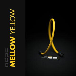 MDPC-X Sleeve SATA - Mellow-Yellow, 1m
