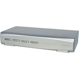 Lindy 4 Port HDMI KVM Switch Pro Audio USB 3.0 ohne Kabel