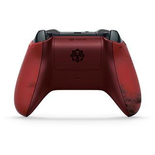 Microsoft Xbox Wireless Controller GoW 4 Crimson Omen LE USB rot