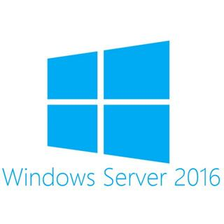 Microsoft Windows Server 2016 Standard X64 1pk DSP 16 Core dt.DVD