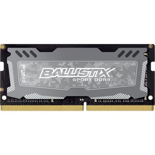 8GB Crucial Ballistix Sport LT DDR4-2400 SO-DIMM CL16 Single