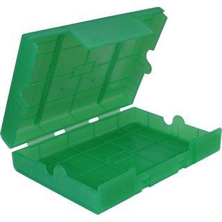 "Inter-Tech AC Schutz-Box 1x 3,5"" oder 4x 2,5"" Kunststoff Grün"