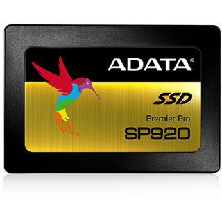 "128GB ADATA Premier Pro SP920 2.5"" (6.4cm) SATA 6Gb/s MLC (ASP920SS3128GMC)"