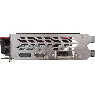 4GB MSI GeForce GTX 1050 Ti GAMING X 4G Aktiv PCIe 3.0 x16