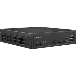 Shuttle Barebone DH110SE S1151 SO-DDR4 black
