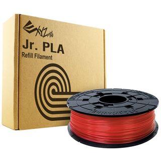 XYZPrinting Filamentkassette Clear Red PLA für 3D Drucker NFC