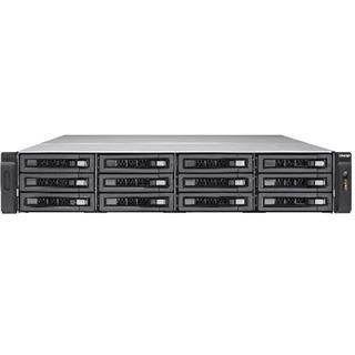 QNAP 2U 12BAY 3.5 GHZ QC 8GB 4XGBE