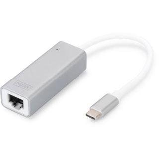 Digitus USB 3.0 auf Gigabit Ethernet Adapter, weiß